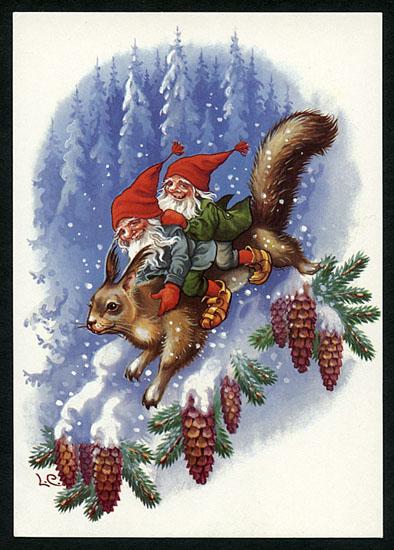 Carlson Crafts Christmas Cards